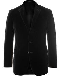 Blazer en velours noir Polo Ralph Lauren