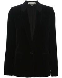 Blazer en velours noir Stella McCartney