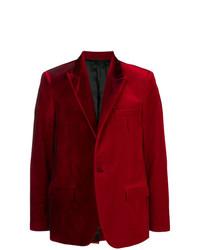 Blazer en velours rouge Golden Goose Deluxe Brand