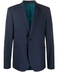 Blazer en vichy bleu marine Paul Smith