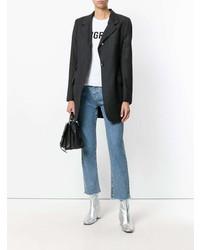 Blazer gris foncé Dolce & Gabbana Vintage