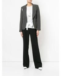 Blazer gris foncé Comme Des Garçons Vintage