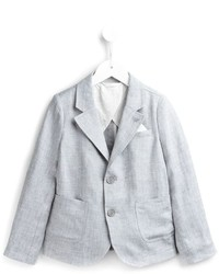 Blazer gris Armani Junior