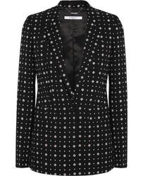 Blazer imprimé noir Givenchy