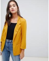 Blazer jaune New Look