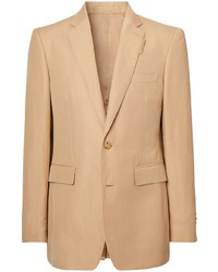 Blazer marron clair Burberry