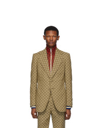 Blazer marron clair Gucci