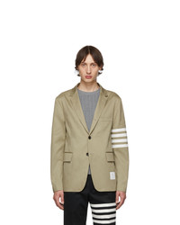 Blazer marron clair Thom Browne