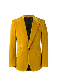 Blazer moutarde Dolce & Gabbana