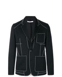 Blazer noir et blanc Givenchy