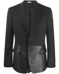 Blazer noir Alexander McQueen