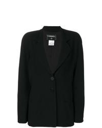Blazer noir Chanel Vintage