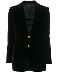 Blazer noir Dolce & Gabbana
