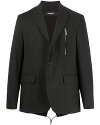 Blazer noir DSQUARED2