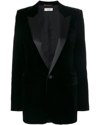 Blazer noir Saint Laurent