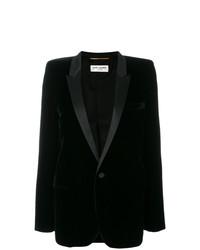 Blazer noir Saint Laurent