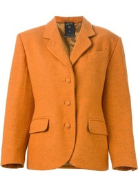 Blazer orange Jean Paul Gaultier