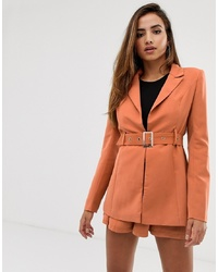 Blazer orange Missguided