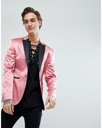Blazer rose ASOS DESIGN