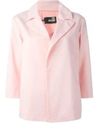 Blazer rose Love Moschino