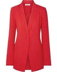 Blazer rouge Diane von Furstenberg