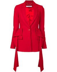 Blazer rouge Givenchy