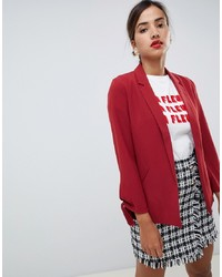 Blazer rouge Oasis