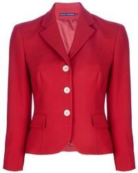 Blazer rouge Ralph Lauren