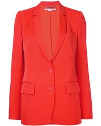 Blazer rouge Stella McCartney
