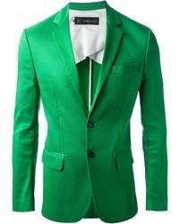 Blazer vert DSQUARED2