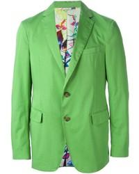 Blazer vert Etro