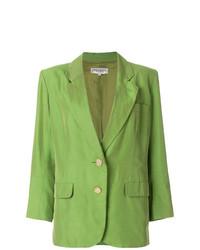 Blazer vert Yves Saint Laurent Vintage