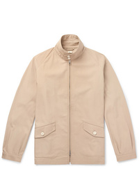 Blouson aviateur beige Beams Plus
