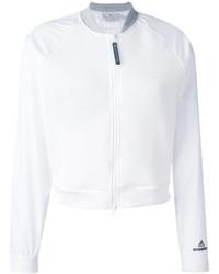 Blouson aviateur blanc adidas by Stella McCartney