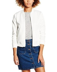Blouson aviateur blanc New Look