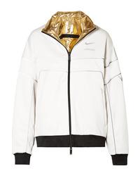 Blouson aviateur blanc Nike