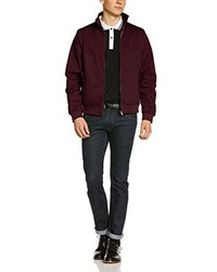 Blouson aviateur bordeaux Merc of London