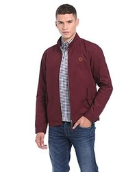 Blouson aviateur bordeaux Pretty Green