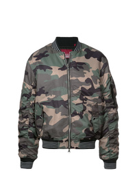 Blouson aviateur camouflage olive Mostly Heard Rarely Seen 8-Bit