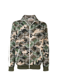 Blouson aviateur camouflage olive Valentino