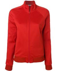 Blouson aviateur en coton rouge Givenchy