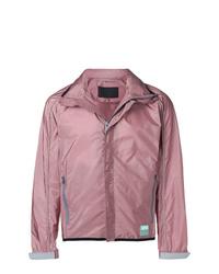 Blouson aviateur léger rose Prada