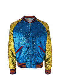 Blouson aviateur multicolore Gucci