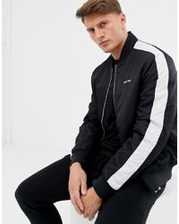 Blouson aviateur noir et blanc Calvin Klein