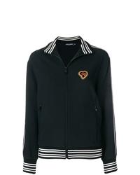 Blouson aviateur noir Dolce & Gabbana