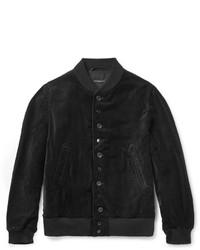 Blouson aviateur noir Engineered Garments