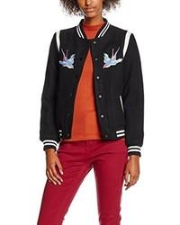 Blouson aviateur noir New Look