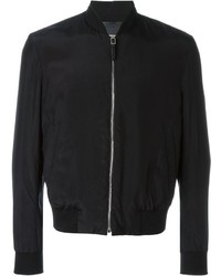 Blouson aviateur noir Paul Smith