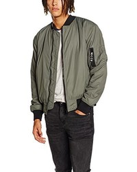 Blouson aviateur olive Nicce London