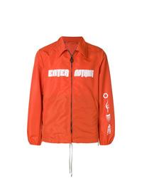 Blouson aviateur orange Lanvin